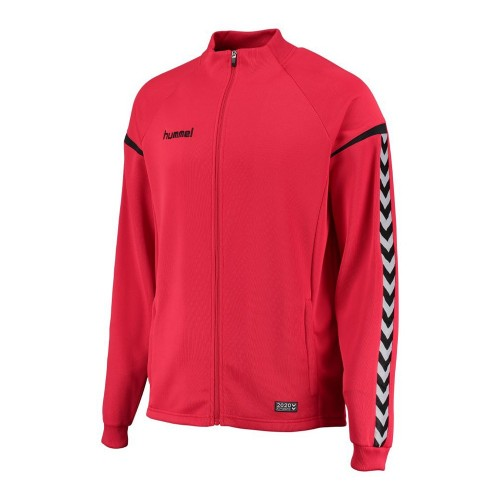 Hummel Kinder-Zip-Trainingsjacke Authentic Charge Poly rot