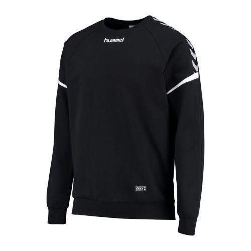 Hummel Kinder-Baumwoll-Sweatshirt Authentic Charge schwarz