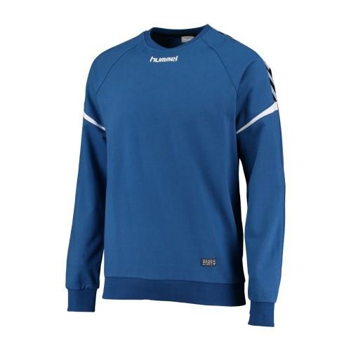 Hummel Kinder-Baumwoll-Sweatshirt Authentic Charge blau