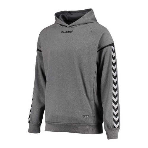 Hummel Kinder-Kaputzensweatshirt Authentic Charge Poly grau