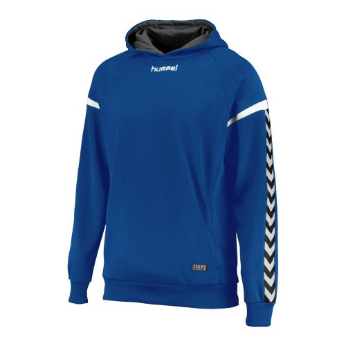 Hummel Kinder-Kaputzensweatshirt Authentic Charge Poly blau