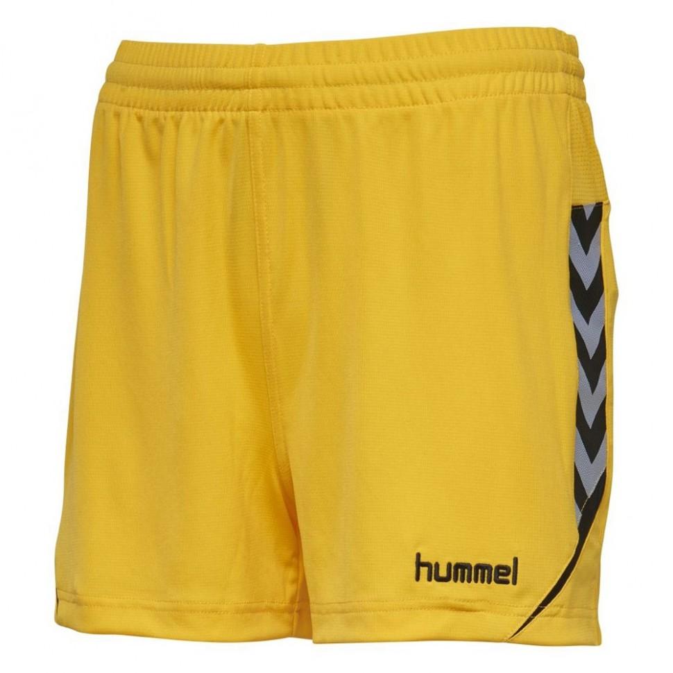 Hummel Authentic Charge Poly Short Damen gelb