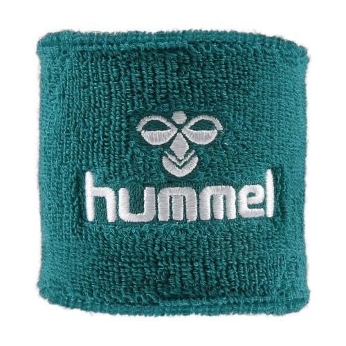 Hummel Old School Small Sweatband türkis/white
