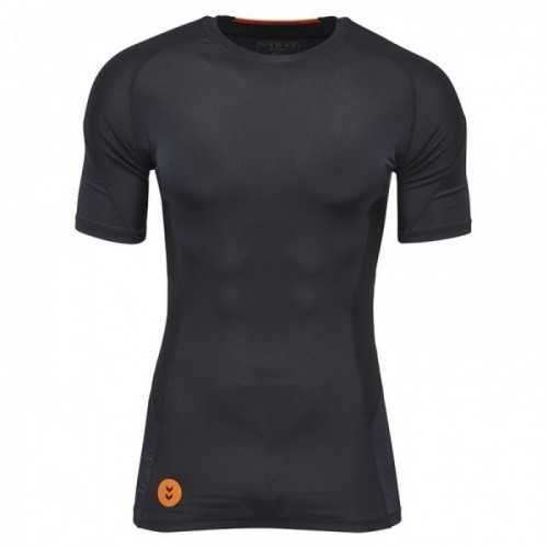 Hummel First Compression ss Tee schwarz