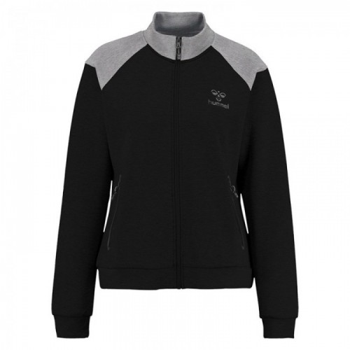 Hummel Classic Bee Zion Zip Jacket für Damen schwarz