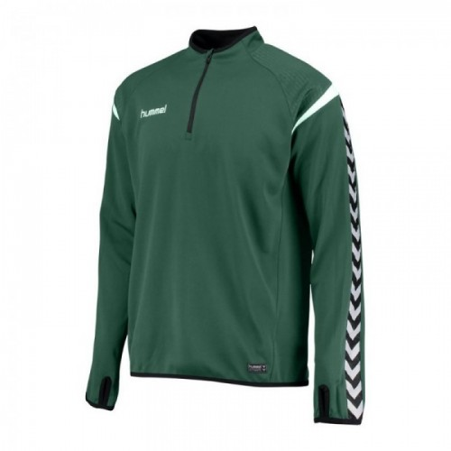 Hummel Authentic Charge Trainings-Sweatshirt Kinder grün