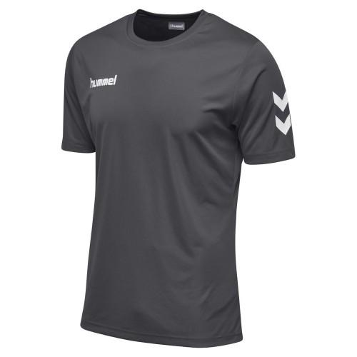 Hummel Kinder-T-Shirt Core Polyester Tee grau