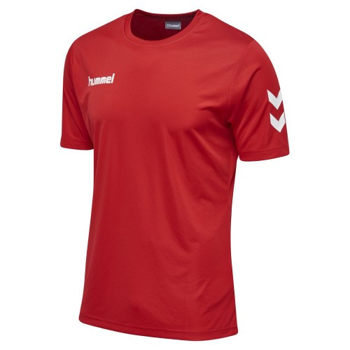Hummel Core Polyester T-Shirt Kinder rot