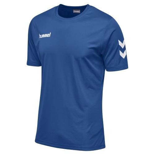 Hummel Kinder-T-Shirt Core Polyester Tee blau