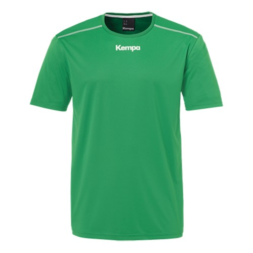 Kempa Poly Shirt Kinder grün