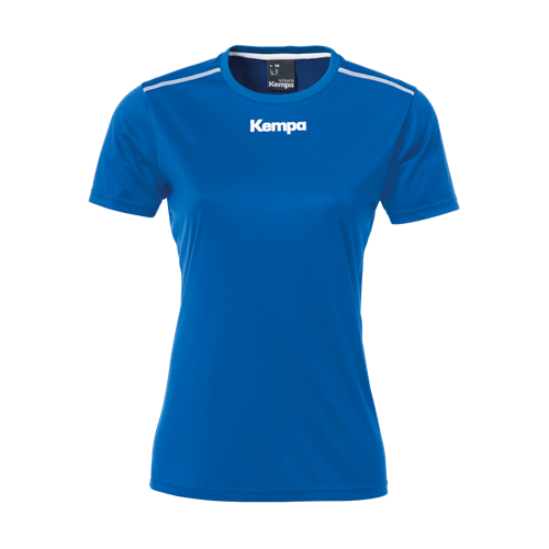 Kempa Damen Poly Shirt royalblau
