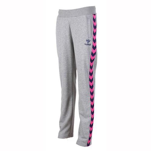 Hummel Damen-Hose Caitlyn grau/pink