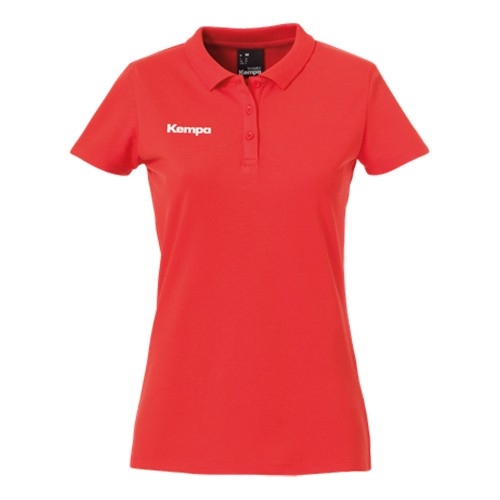 Kempa Damen Polo Shirt rot