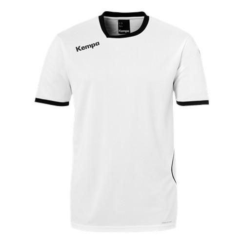 Kempa Kinder-Handballtrikot Curve weiß/schwarz