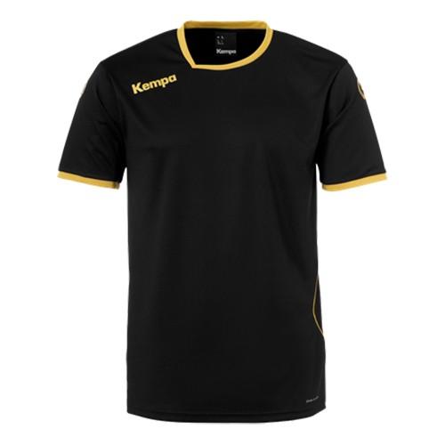 Kempa Kinder-Handballtrikot Curve schwarz/gold