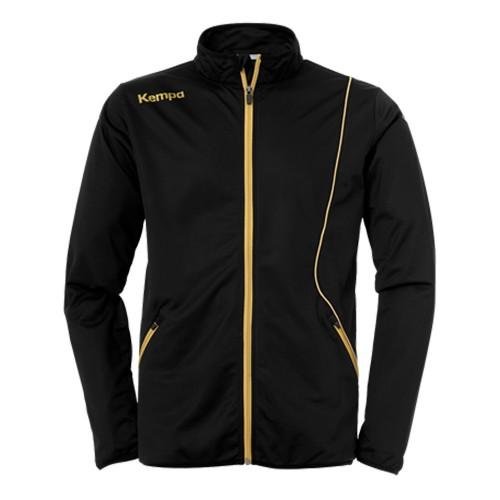Kempa Curve Kinder-Trainingsjacke Classic schwarz/gold