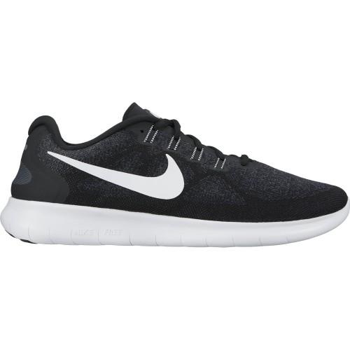 Nike Damen-Freizeitschuhe Free RN 2017 schwarz/weiß
