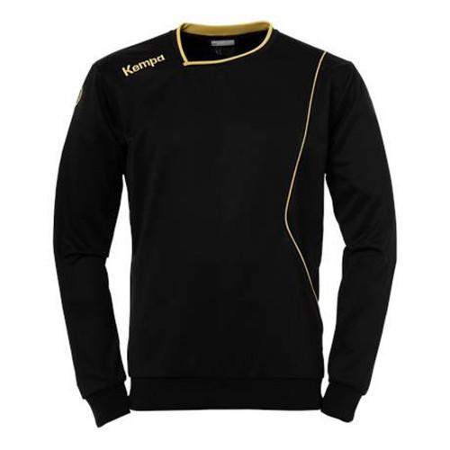 Kempa Curve Kinder-Trainingssweatshirt schwarz/gold
