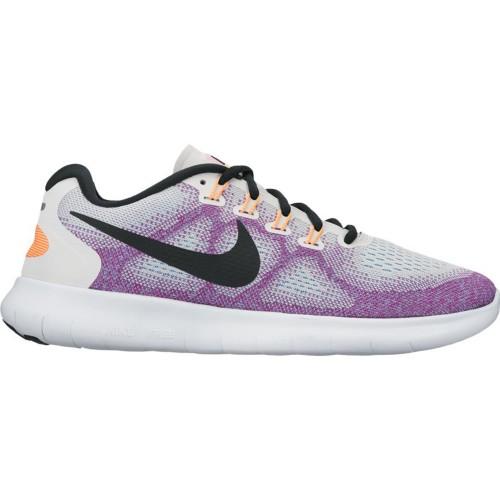 Nike Free RN 2017 Damen weiß/lila