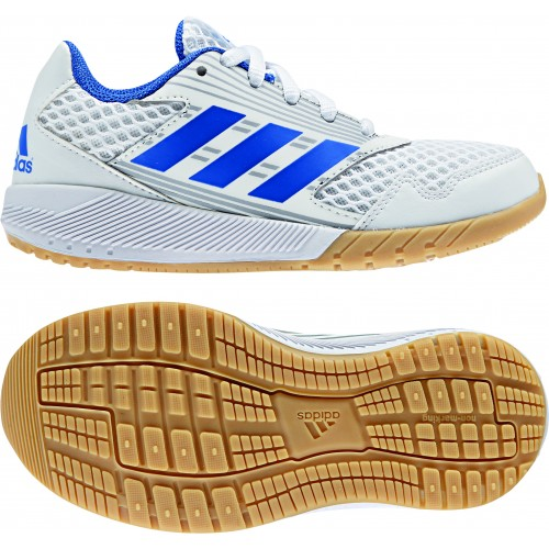Adidas AltaRun Kinder-Laufschuhe weiß/blau