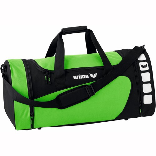 Erima Sports bag Club 5 Line lightgreen/black medium