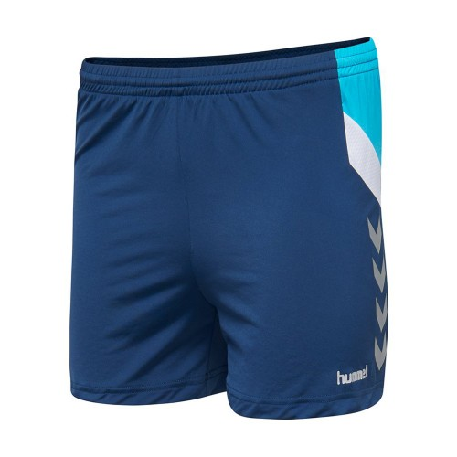 Hummel Tech Move Poly Short Damen dunkelblau