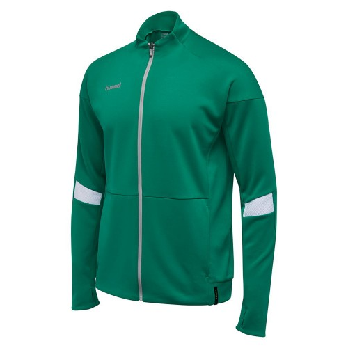 Hummel Tech Move Poly Zip Jacke grün