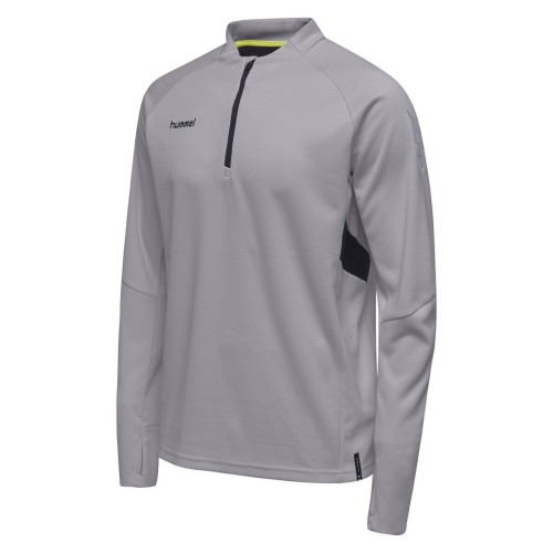 Hummel Tech Move ½ Zip Sweatshirt Kinder grau