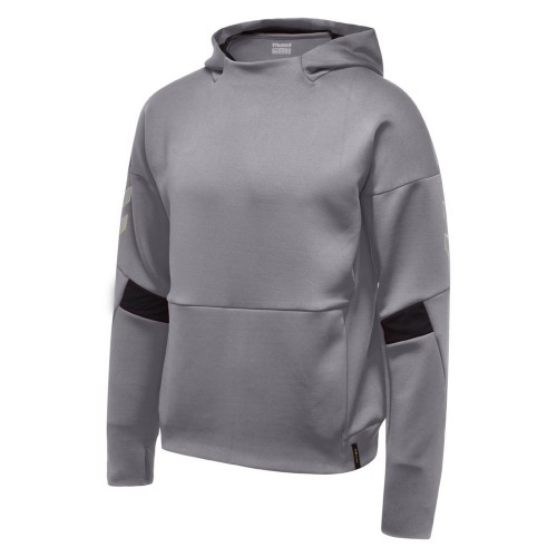Hummel Tech Move Poly Hoodie Kids gray