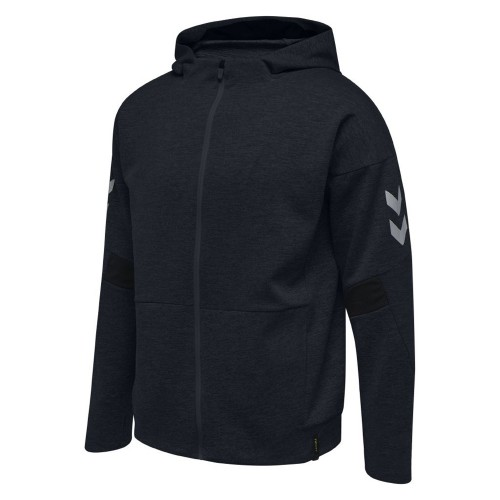 Hummel Tech Move Zip Hood schwarz