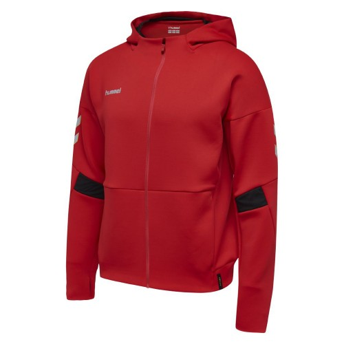 Hummel Tech Move Zip Hood Kinder rot