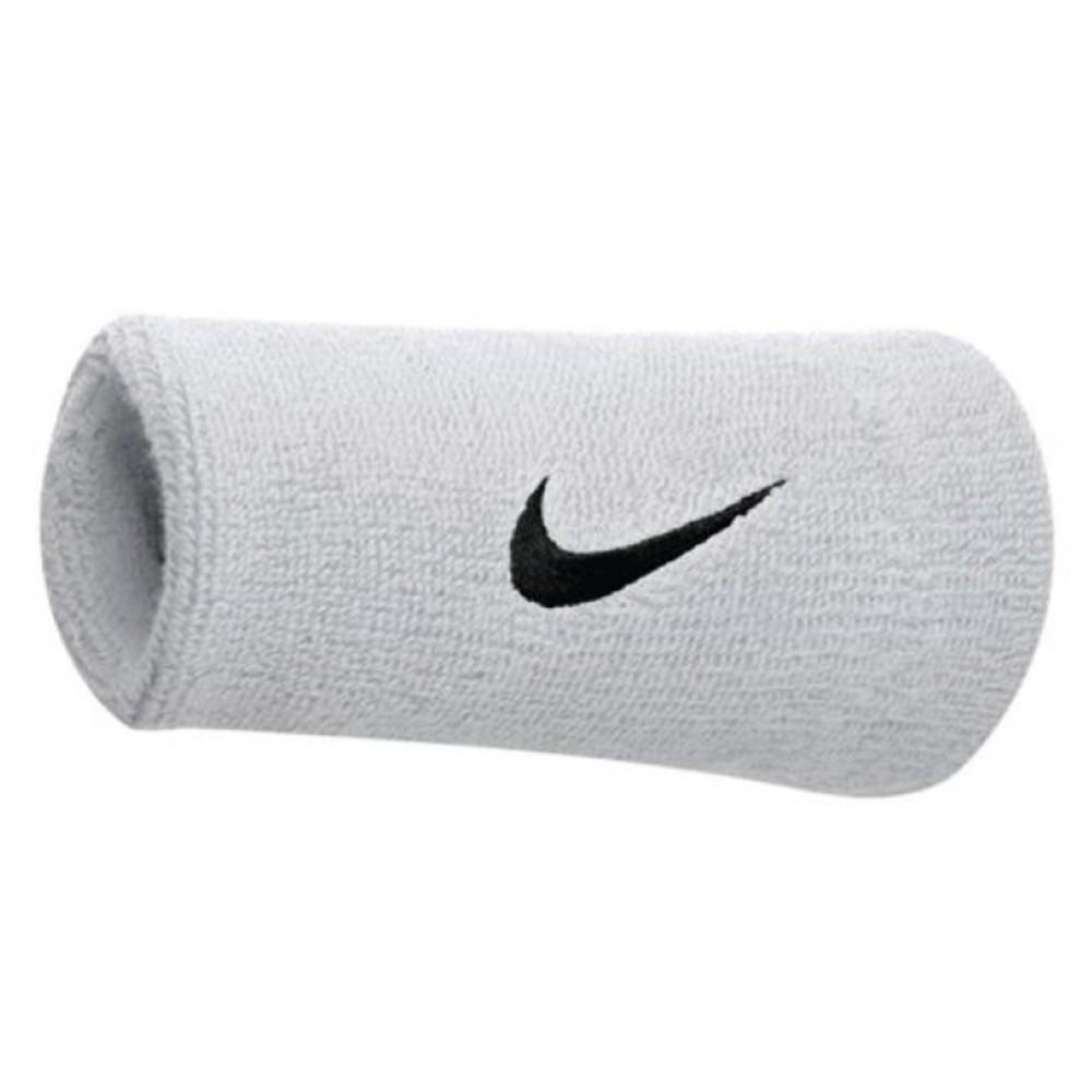 Nike Schweißband breit weiß/schwarz Unisex