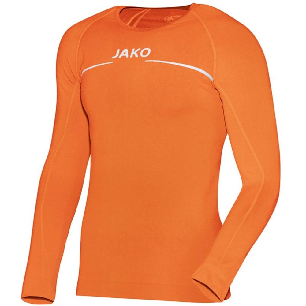 Jako Longsleeve comfort orange, Herren 6452-19