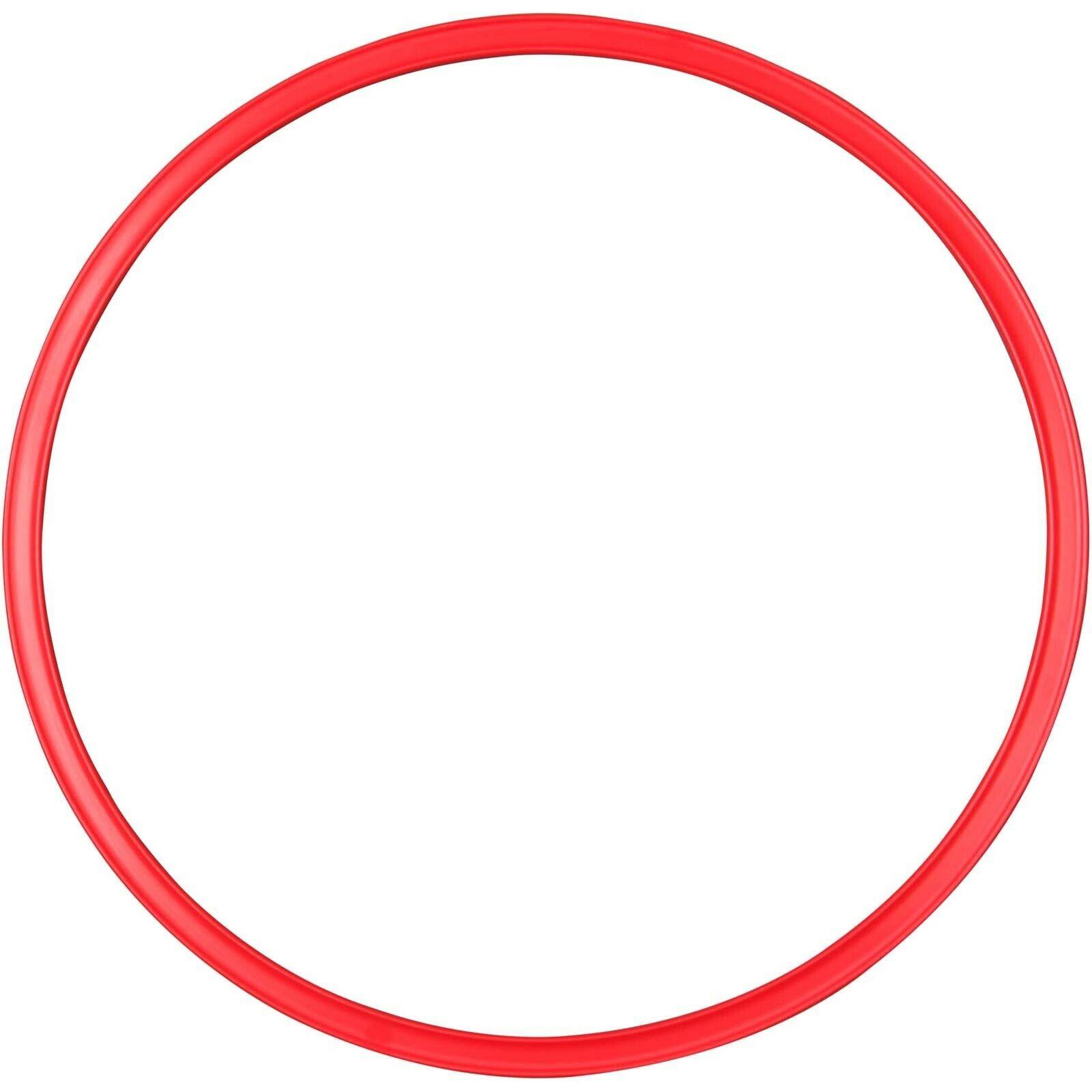 Sport 2000 Gymnastikreifen, Fitnessreifen, Reifen, rot Unisex 1081646