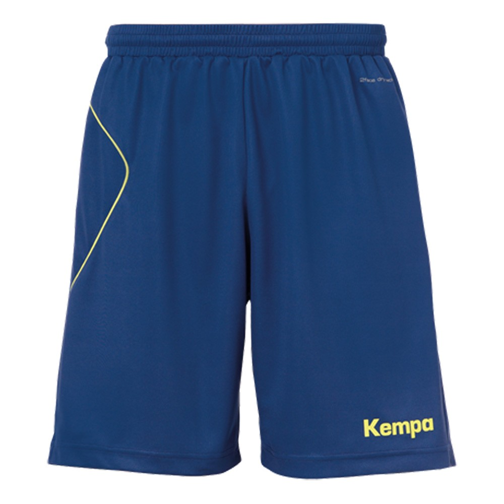 Kempa Curve Shorts marine/neongelb, Herren