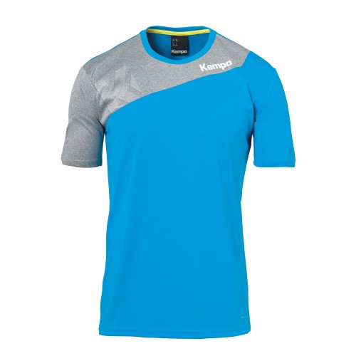 Kempa Core 2.0 Jersey Kids blue/gray