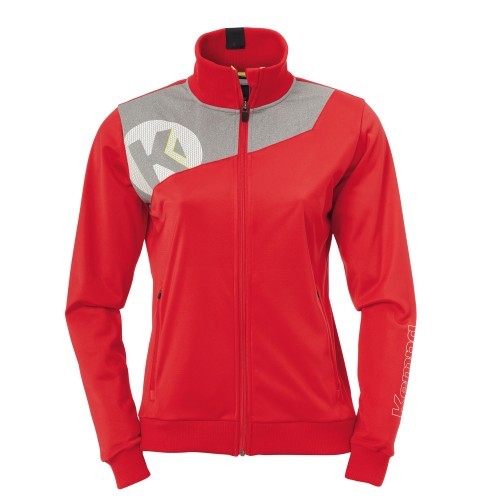 Kempa Core 2.0 Poly Jacket women red/grey