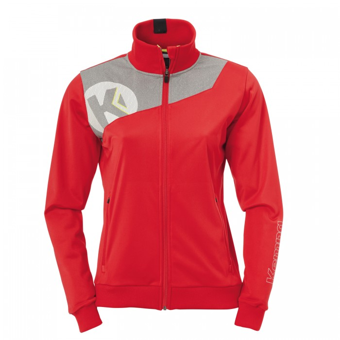 Kempa Core 2.0 Poly Jacket women red/grey