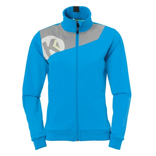 Kempa Core 2.0 Poly Jacket women blue/grey