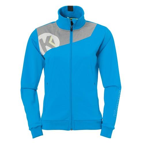 Kempa Core 2.0 Poly Jacket women blue/grey