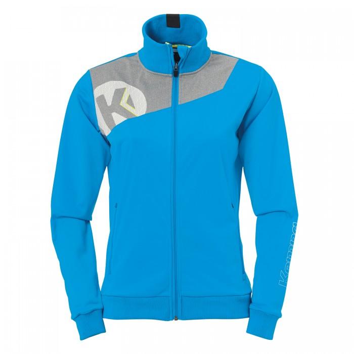 Kempa Core 2.0 Poly Jacke Damen blau/grau