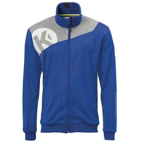 Kempa Core 2.0 Poly Jacke Kinder royal/grau