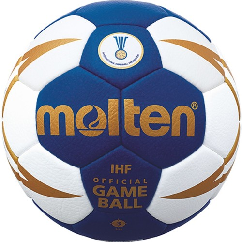 Molten Handball H3X5000 weiß/blau/gold