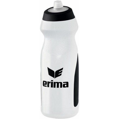 Erima water bottle 0,7 l white