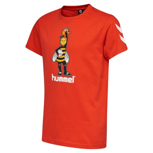Hummel Best T-Shirt Kinder orange-rot