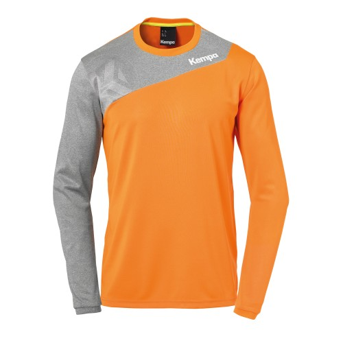 Kempa Core 2.0 Langarmshirt orange