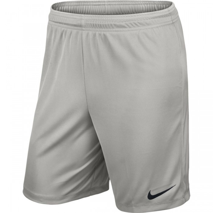 Nike Park II Knit Short ohne Innenhose grau