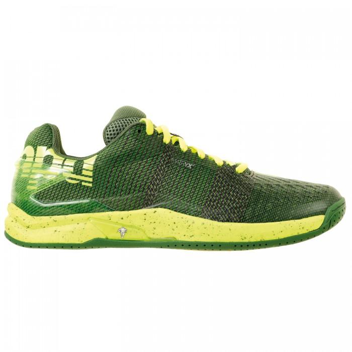 Kempa Handball shoes Attack One Contender green/yellow