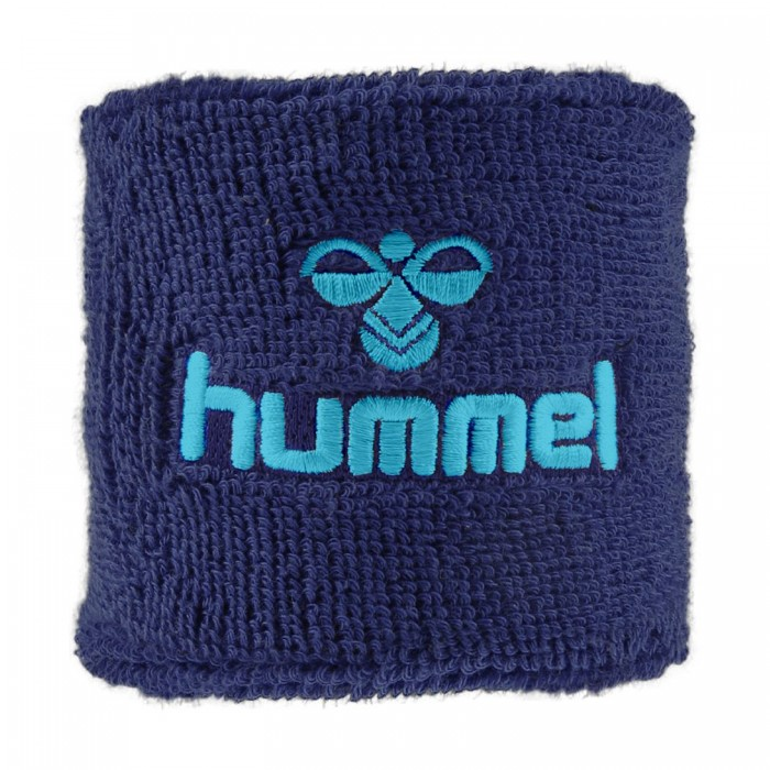 Hummel Old School Small Sweatband darkblue/tourquis