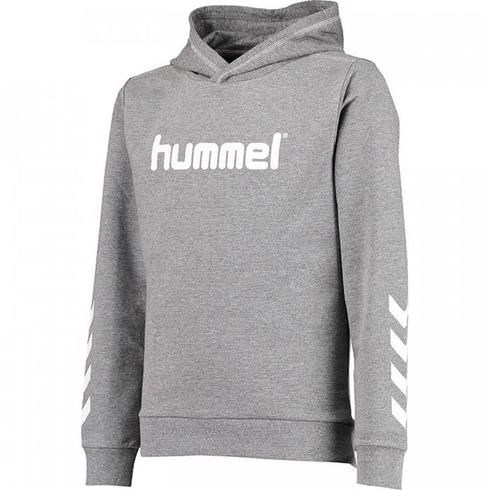 Hummel Kess Noos Hoodie grau/weiß